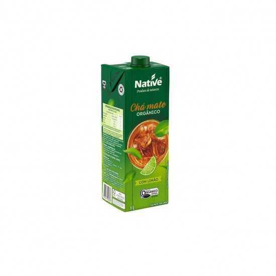 Chá Mate com Limão Orgânico 1L - Native