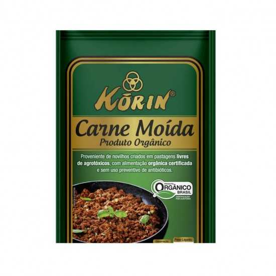 Carne Moida Orgânica Congelada 400g - Korin