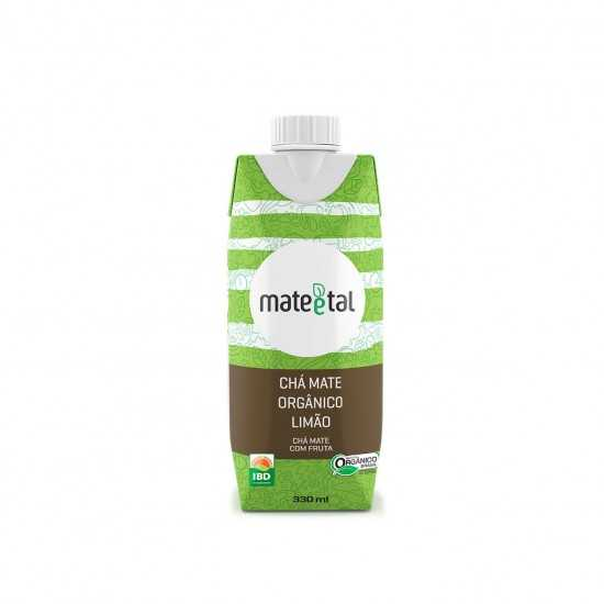 Chá Mate Orgânico com Limão 330ml - Mate e Tal