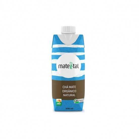 Chá Mate Orgânico Natural 330ml - Mate e Tal