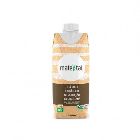 Chá Mate Orgânico Sem Açúcar 330ml - Mate e Tal