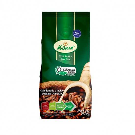 Café Moído Valvulado Orgânico 250g - Korin