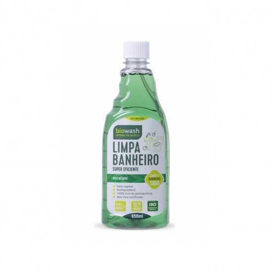 Limpa Banheiro Refil Orgânico 650ml - Biowash