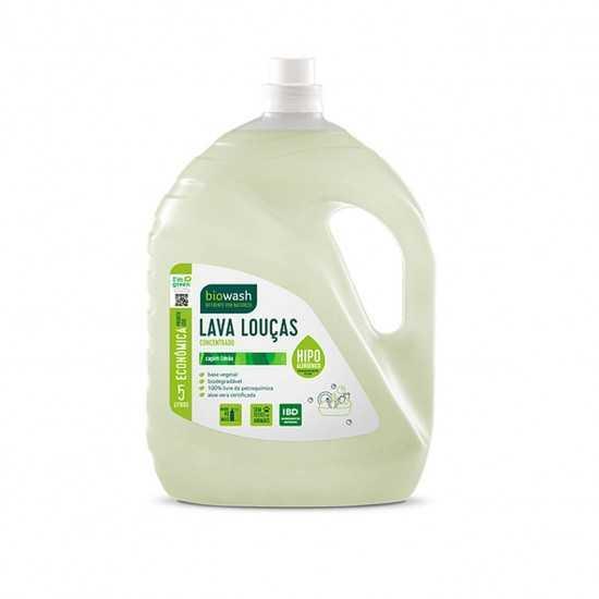 Lava Louças capim limão Orgânico 5L - Biowash