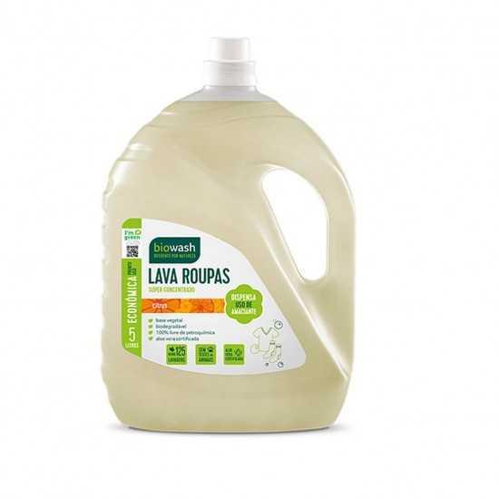 Lava Roupas Citrus Liquido Orgânico 5L - Biowash