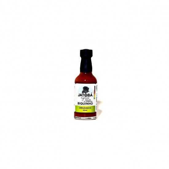 Molho de Pimenta Biquinho Orgânico 45ml - Jatobá