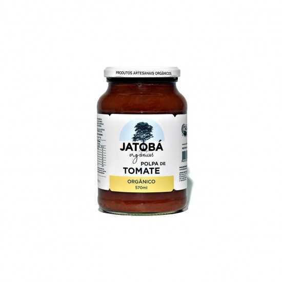 Polpa de Tomate Orgânica 570g - Jatobá