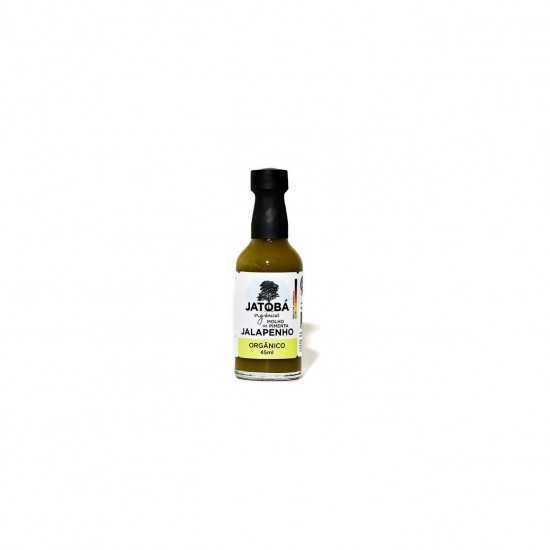 Molho de Pimenta Jalapenho Orgânico 45ml - Jatobá