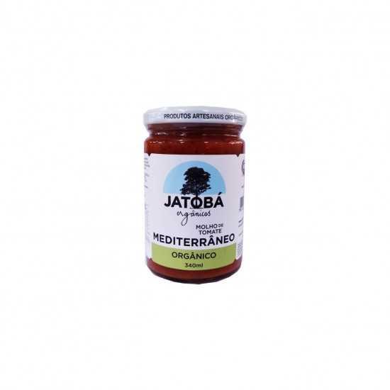 Molho de Tomate Mediterrâneo Orgânico 340ml - Jatobá