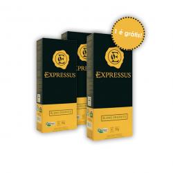 Leve 3 pague 2 - Cápsulas de Café Orgânico 50g - Café Expressus