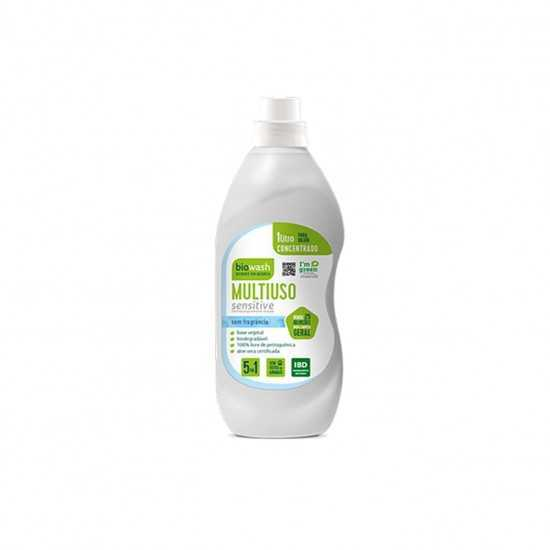 Concentrado Multiuso Hipoalergênico Sensitive Orgânico 1L - Biowash