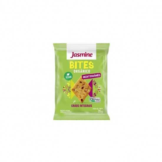 Bites - Biscoito Salgado Sabor Mediterrâneo Orgânico 25g - Jasmine