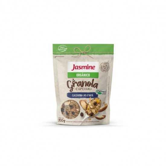 Granola de Castanha-do-Pará Orgânica 200g - Jasmine
