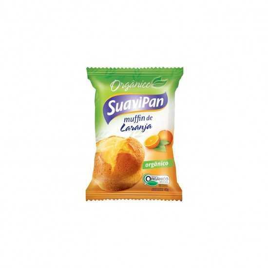 Muffin de Laranja Orgânico 40g - SuaviPan
