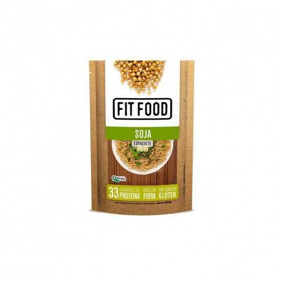 Espaguete de Soja Orgânico 200g - FitFood