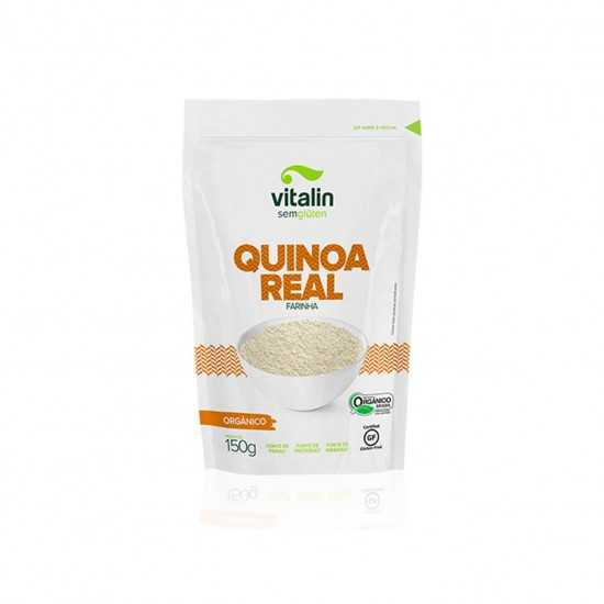 Farinha de Quinoa Real Orgânica 150g - Vitalin