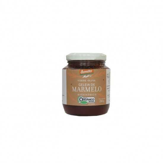 Geleia de Marmelo Orgânico e Biodinâmico 250g - Verde Oliva