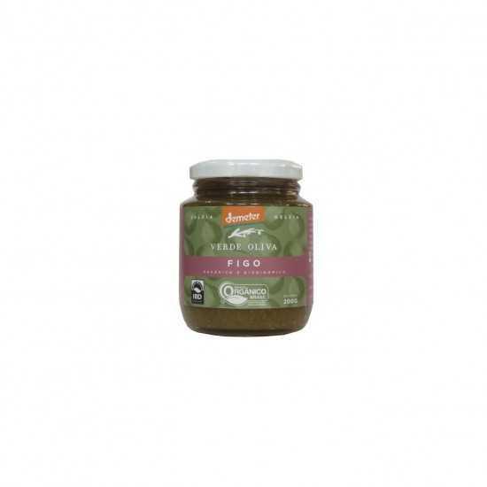 Geleia de Figo Orgânico e Biodinâmico 250g - Verde Oliva