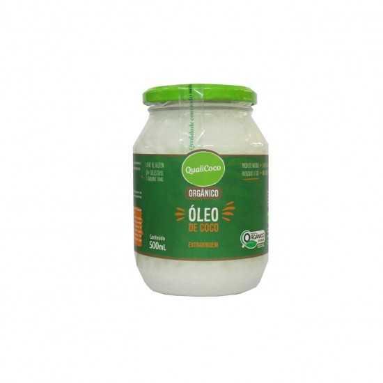 Óleo de Coco Extravirgem Orgânico 500g - QualiCoco