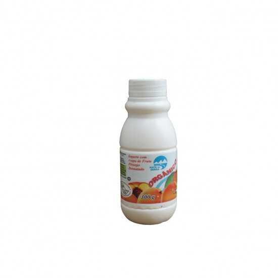 Iogurte Orgânico Light Pêssego 300g - Nata da Serra