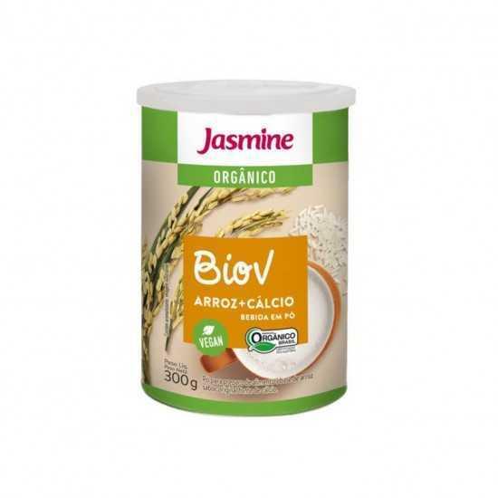 Bebida Vegetal em pó arroz com cálcio Orgânico 300g - Jasmine