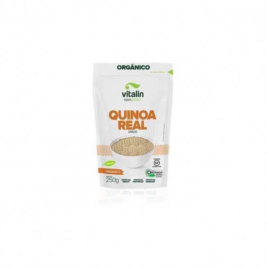 Quinoa Real em Grãos Orgânica 250g - Vitalin