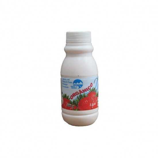 Iogurte Orgânico Light Morango 300g - Nata da Serra