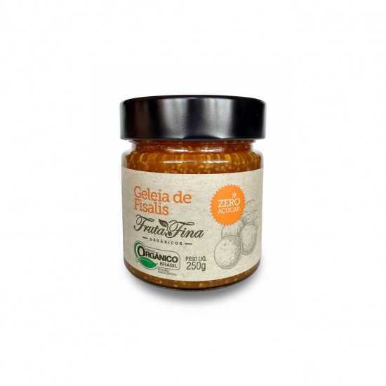 Geleia de Fisalis Sem Açúcar Orgânica 250g - Fruta Fina