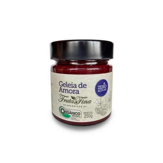 Geleia de Amora Sem Açúcar Orgânica 250g - Fruta Fina