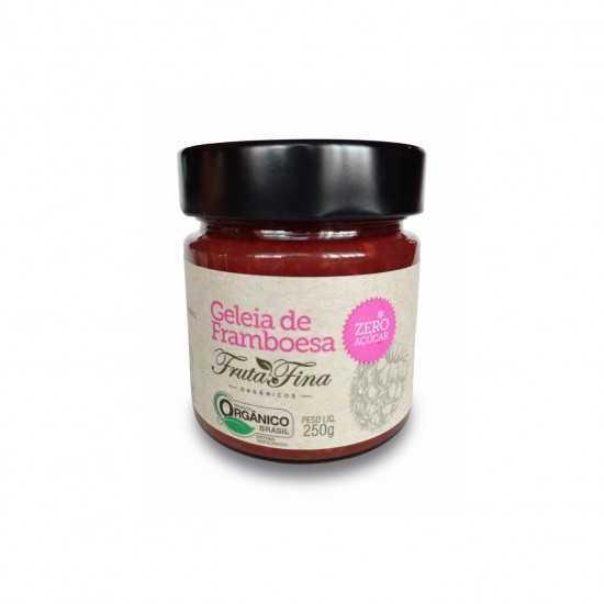 Geleia de Framboesa Sem Açúcar Orgânica 250g - Fruta Fina