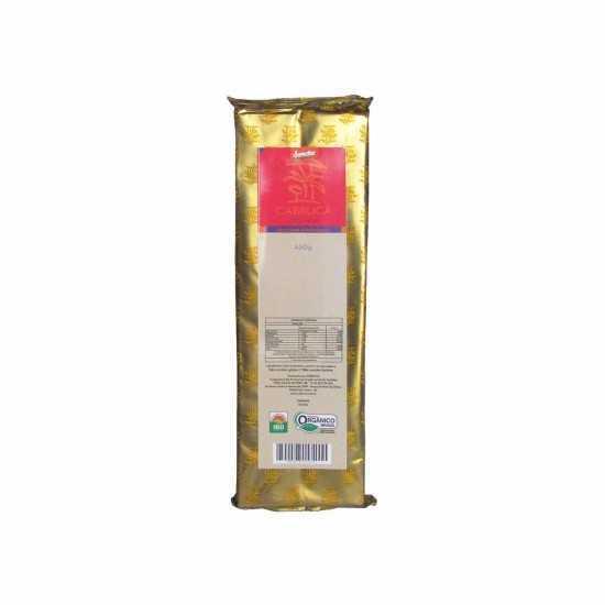 Barra de Chocolate 70% Orgânico e Biodinâmico 450g - Cabruca