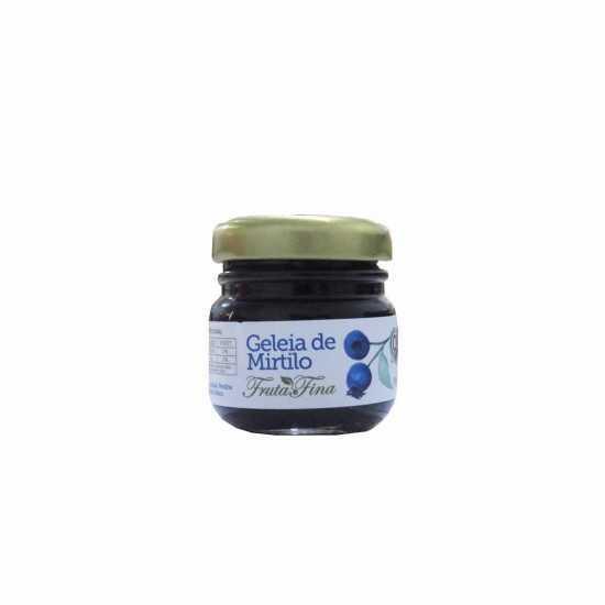 Mini Geleia de Mirtilo Orgânica 50g - Fruta Fina
