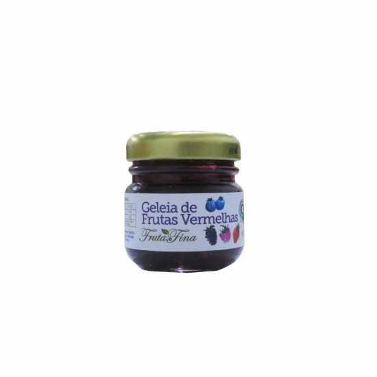 Mini Geleia de Frutas Vermelhas Orgânica 50g - Fruta Fina