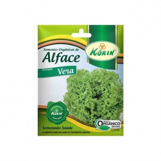 Sementes Orgânicas de Alface Vera - Korin
