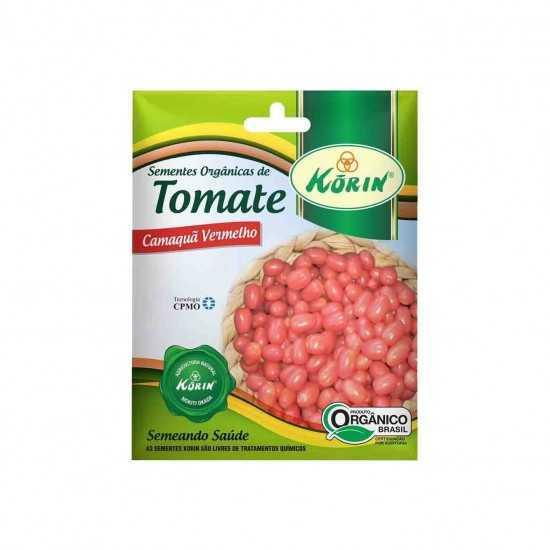 Sementes Orgânicas de Tomate Camaquã Vermelho 5g - Korin