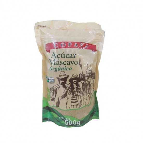 Açúcar Mascavo Orgânico 500g - COPAVI