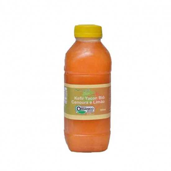 Suco Kefir Yacon Cenoura e Limão Orgânico 300 ml - Mantí Biô