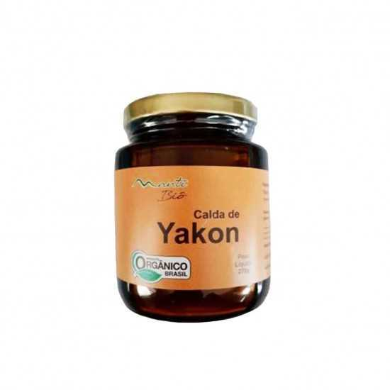 Calda de Yacon Orgânica 270g - Mantí Biô