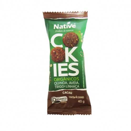Cookie de Aveia e Cacau Orgânico 40g - Native