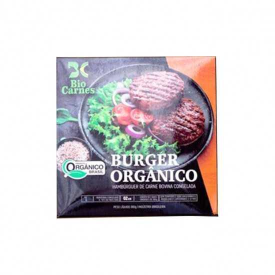 Hambúrguer Orgânico Congelado 360g - Bio Carnes