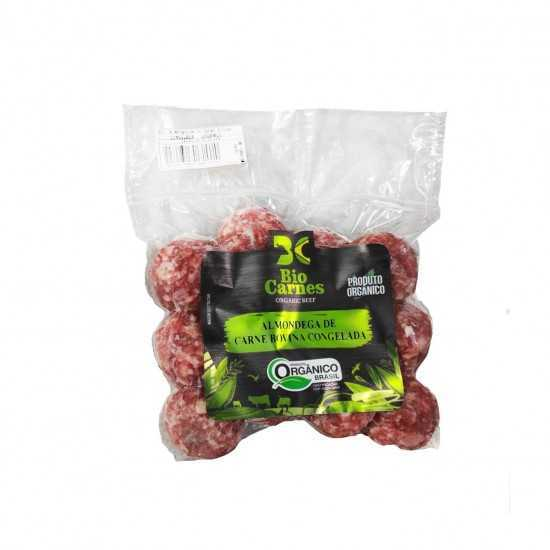 Almondega Orgânica Congelada 12un 360g - Bio Carnes