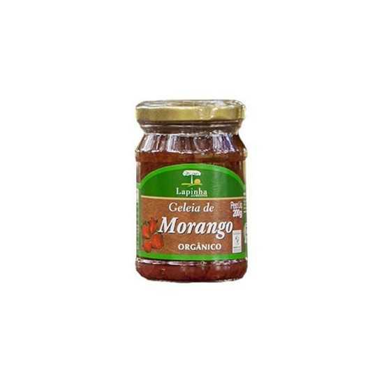 Geleia de Morango Orgânica 200g - Lapinha Orgânicos