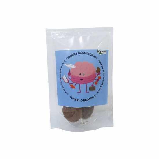 Cookies de Chocolate Orgânico e Vegano 25g - Tempo Orgânico