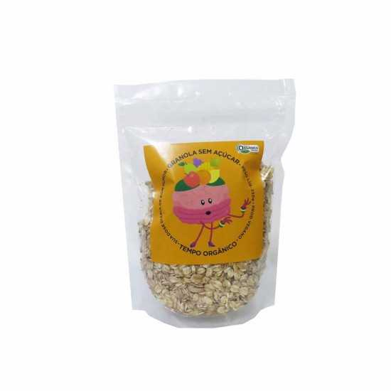 Granola Doce Sem Açúcar 250g Orgânica e Vegana - Tempo Orgânicos