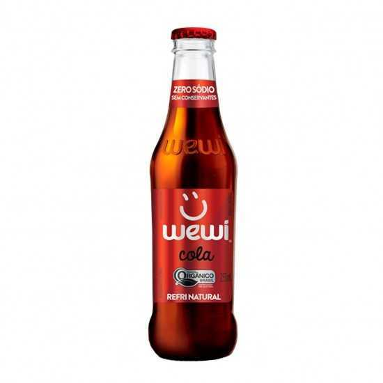 Refri Cola Orgânico 255ml - Wewi