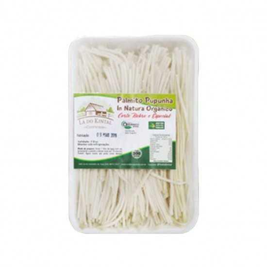 Palmito Pupunha Espaguete Orgânico in natura 300g - Lá do Kintal