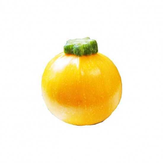 Abobrinha Redonda Amarela Orgânica 500g - OSM