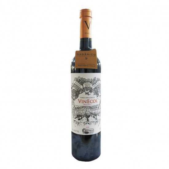 Vinho Orgânico Tinto Malbec 750ml - VinEcol