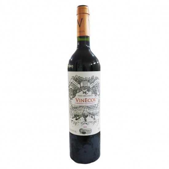 Vinho Orgânico Tinto Cabernet Sauvignon 750ml - VinEcol