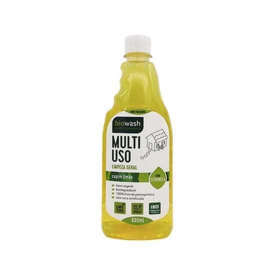 Multiuso de Capim Limão Refil Orgânico 650ml - Biowash